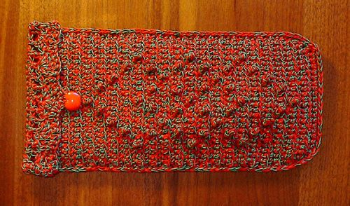 Free Crochet Pattern Eyeglass Case : Pin by Cindy Crichton on Crochet* - Bags, Purses,Totes ...