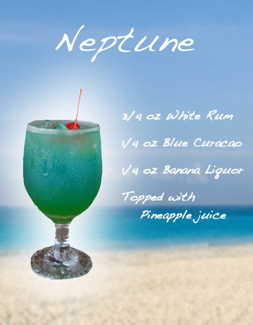 NEPTUNE - Frozen Drink Recipe
