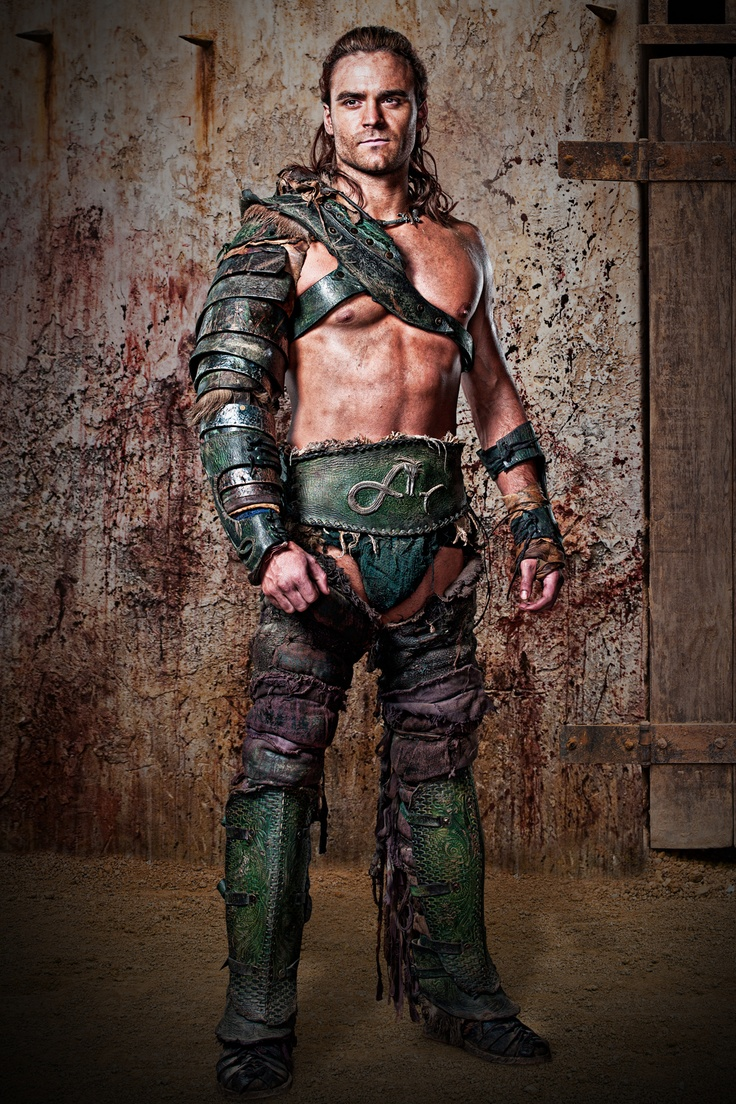 Dustin Clare, Gannicus from Spartacus GOA, Vengence & WOD.