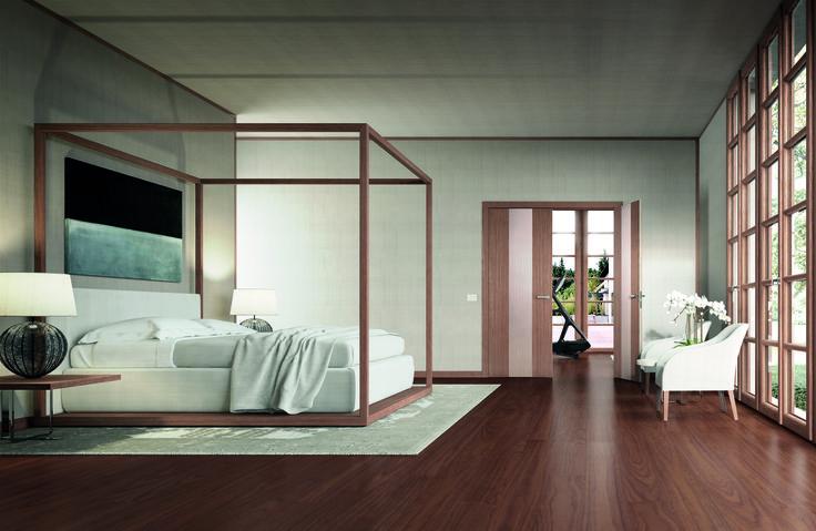 Soft Luxury style.  Двери и паркет - Sofia.  Двери из коллекции Rain, автор - Franco Poli.  #sofiadoors #italiandesign