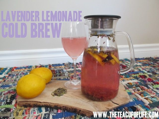 Hold onto summer a little while longer with this Lavender Lemonade Cold Brew Recipe (how-to video included!)