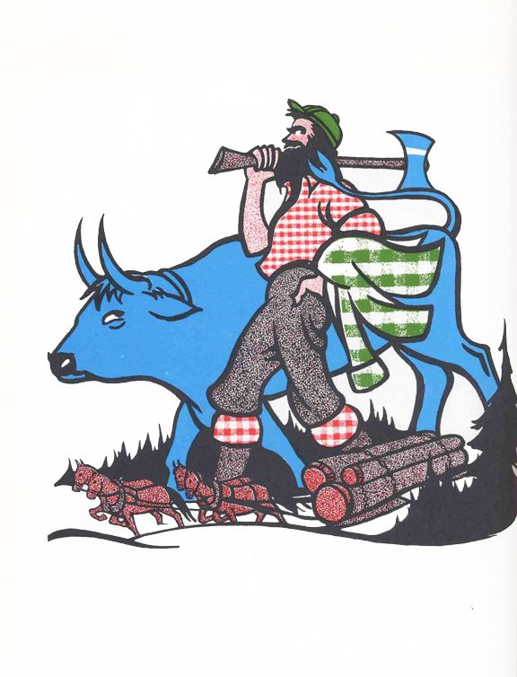 17 Best images about Paul Bunyan on Pinterest | Minnesota, Graphic ...