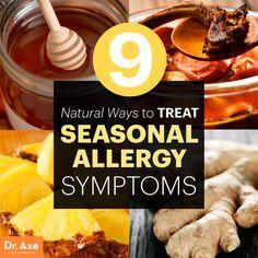 Natural Ways to Treat seasonal allergy symptoms http://www.draxe.com #health #holistic #natural