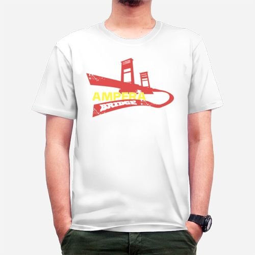 Ampera Bridge dari Tees.co.id oleh Candra ClothinK