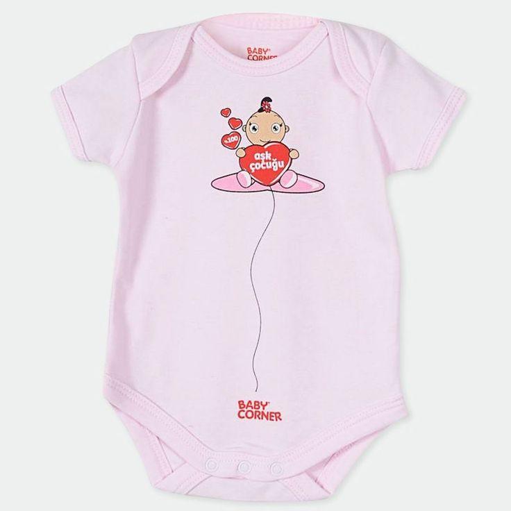 Baby Corner Aşk Çocuğu Badi Tekli Cupcake