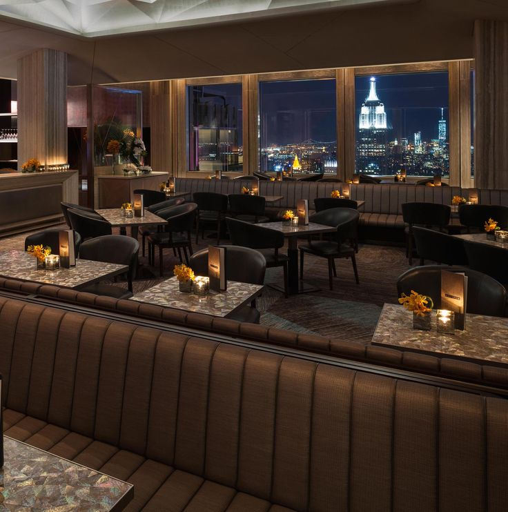 SixtyFive is the bar connected to the Rainbow Room in Rockefeller Plaza. Spectacular views!