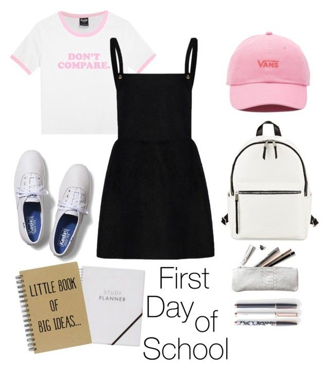 """Untitled #43"" by hfirlyana on Polyvore featuring Keds, French Connection, U Brands and Vans"