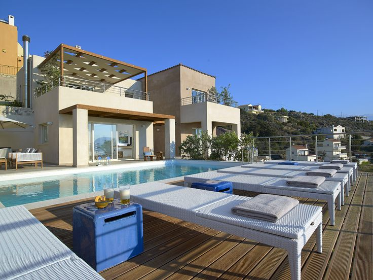 Villa Alamo Crete Sleeps up to 6. With chic and contemporary design, and state-of-the-art facilities, this is an excellent luxury villa in Crete, with stunning views, high standards of service and a coveted location close to the coast