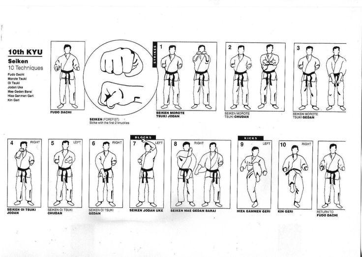 Passages de grades + couleurs des ceintures 1°) Temps nécessaire entre les examens pour les adultes : 10ème à 5ème kyu : 4 mois à raison de deux entraînements/semaine (32 cours). 4ème à 1er kyu : 6 mois à raison de deux entraînements/semaine (48 cours)....