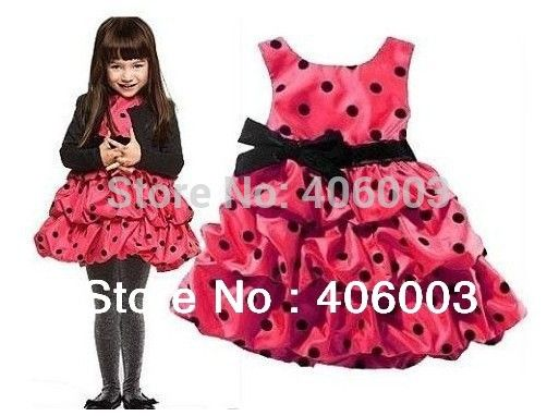 >> Click to Buy << Free Shipping Baby Girl  Ladybug Tutu Dress  Princess Party Dresses Girl's  Clothes #Affiliate