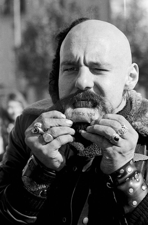 'Tino' Schippert President Hells Angels Switzerland Helvetiaplatz Zürich photo by Willy Spiller around 1971 [1024x1557]