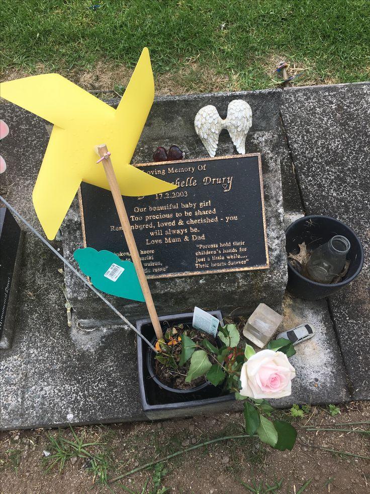 Grave side