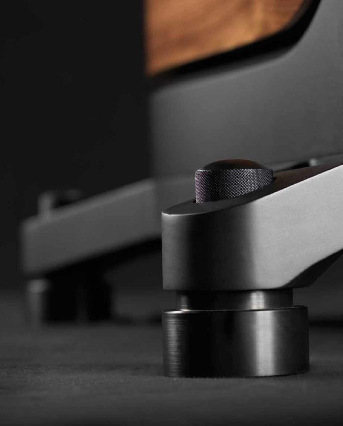 The Sonus faber - Zero Vibration Transmission (Patent Pending)