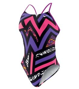 Nike Swim POW! Cut Out Tank I have this suit in pink and orange