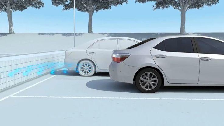 2017 Toyota Intelligent Clearance Sonar Crash Avoidance System