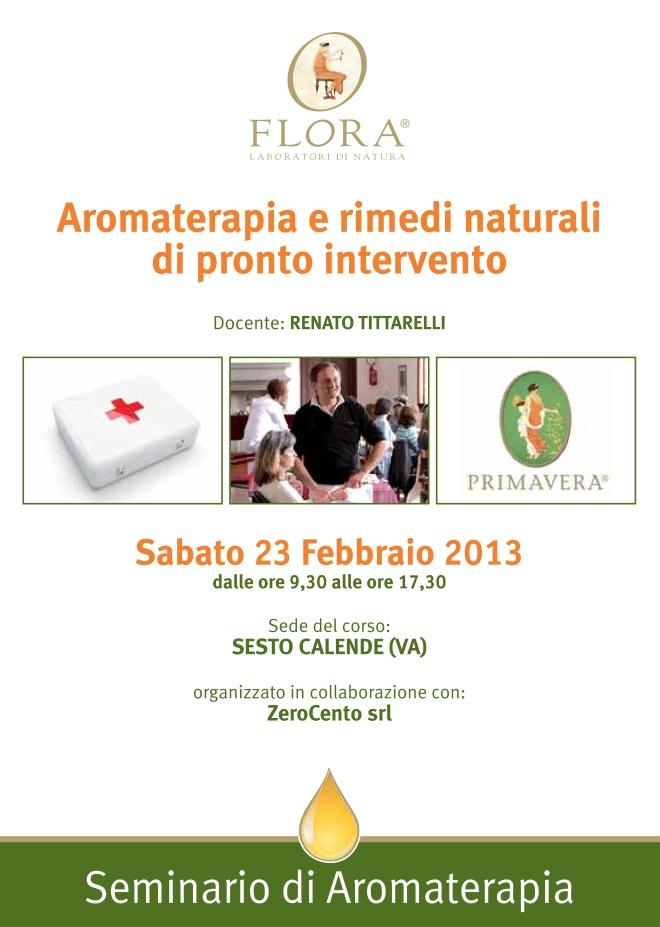 Corso Aromaterapia e rimedi naturali di pronto intervento #Varese