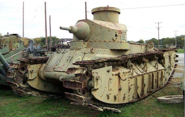 Tank Medium M 1922 US