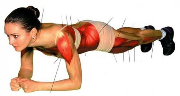 Questo è uno degli esercizi più efficaci e più popolari in tutto il mondo. Interessa gli addominali, ma anche i muscoli di tutto il corpo. Prenditi 5 minuti.