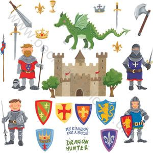 Knights Wall Stickers