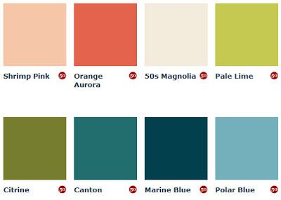 98 Best Images About Vintage Color Palettes On Pinterest