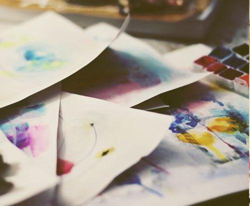 my watercolor textures