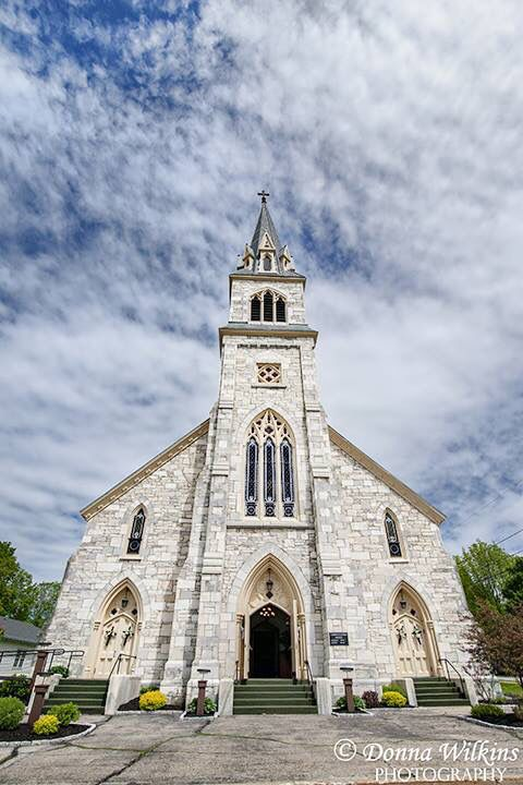 St Bridget S Church West Rutland Vt New England