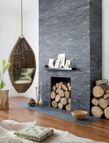 Quirky Chimney Breast Living Room
