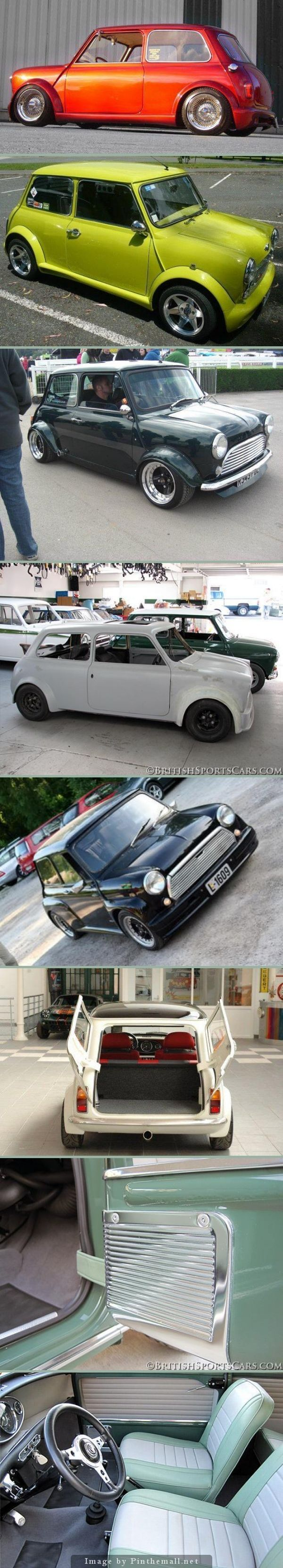 Different ways to do up a mini