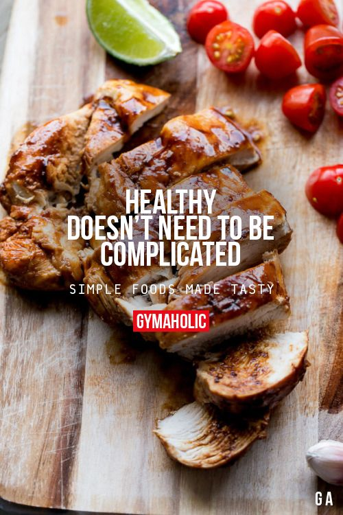 Healthy Doesn't Need To Be Complicated
