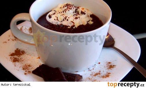 Domácí horká čokoláda