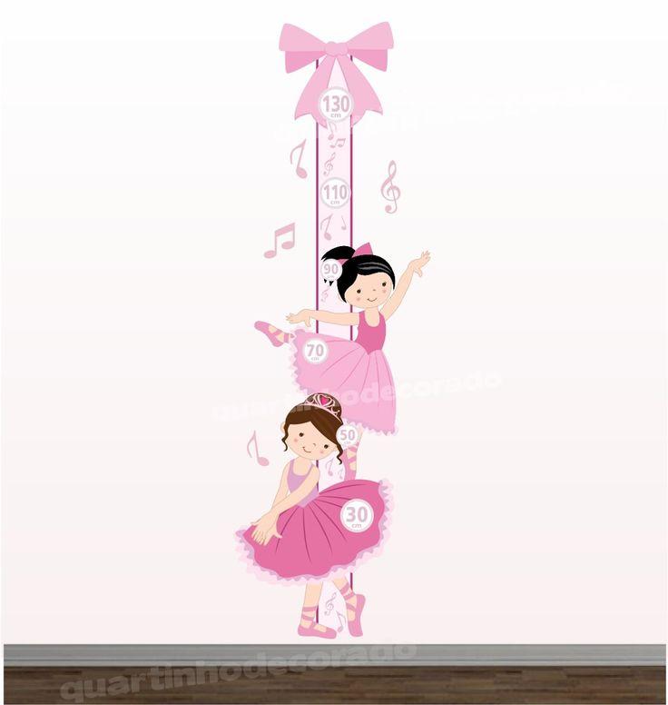 adesivo-bebe-bailarina-regua-crescimento-infantil-decorativo-18637-MLB20159004252_092014-F.jpg (1138×1200)