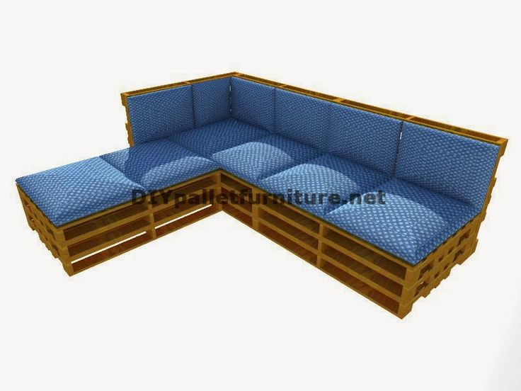 Mueblesdepalets.net: Guía paso a paso para hacer fácilmente un sofá chaise-long con palets enteros