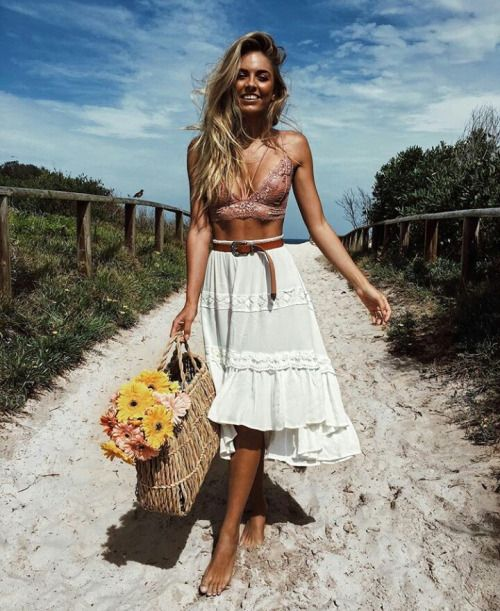 25 Amazing Boho-Chic Style Inspirations and Outfit Ideas - Highpe
