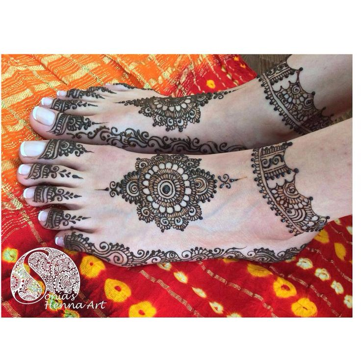 Sonia's Henna Design for Pakistani dulhan