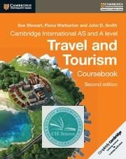 Cambridge International AS and A Level Travel and Tourism Coursebook 2nd Edition
