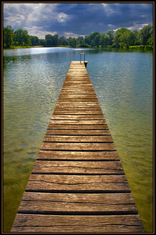 Afternoon at the Lake - #Tulln, lower Austria