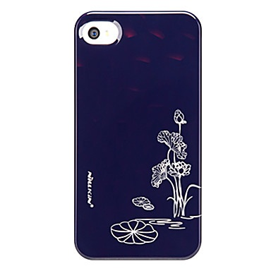 ultradunne lotus patroon voor iPhone 4 en 4s (zwart) – € 15.45