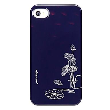 ultradunne lotus patroon voor iPhone 4 en 4s (zwart) – € 15.45