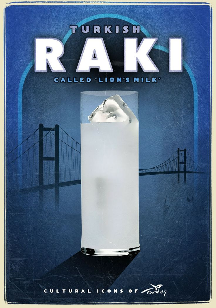 "Rakı - Turkish Called ""Lion's Milk"""