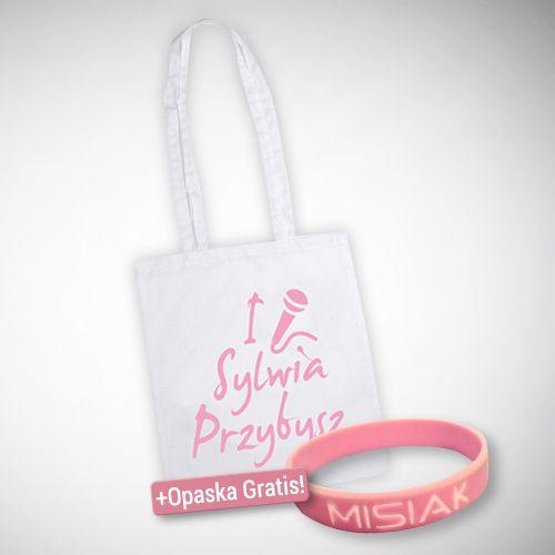 """Torba """"I Love Sylwia Przybysz"""""""