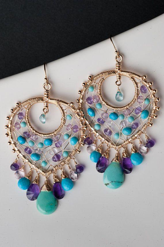 192 best Earrings: Chandelier images on Pinterest | Chandelier ...