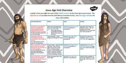Stone Age Planning Overview - the stone age, history, plan review