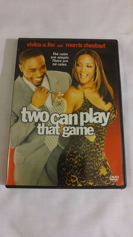 Two Can Play That Game DVD Vivica A. Fox, Morris Chestnut