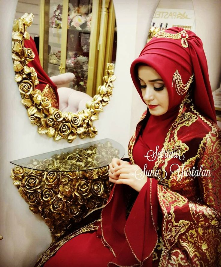 68 best islamic weddings images on Pinterest | Hijab fashion ...