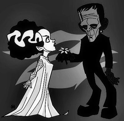 717 best images about Frankenstein and his Bride on ...