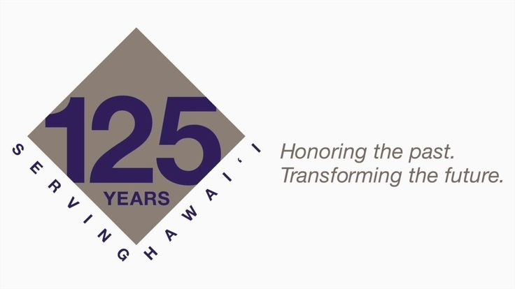 On October 13, 2016, Hawaiian Electric celebrated its 125th Anniversary. It's an opportunity for us to honor our past and look ahead to the future. On behalf of our company, mahalo to our families, friends, and communities for letting us serve you.