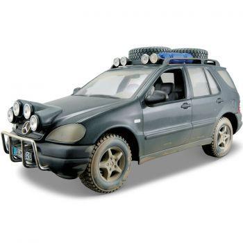 Maisto Mercedes Benz Ml Diecast Model Araba 1:24 Dirt Riders Mavi Model Arabalar Maisto