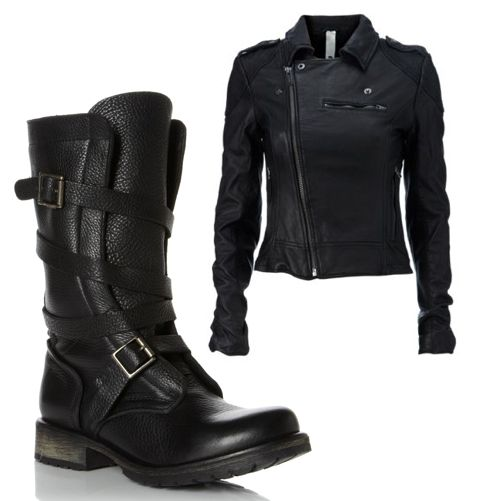How come my banddit's look nothing like that and are extremely floppy!  Either way, favorite boots ever