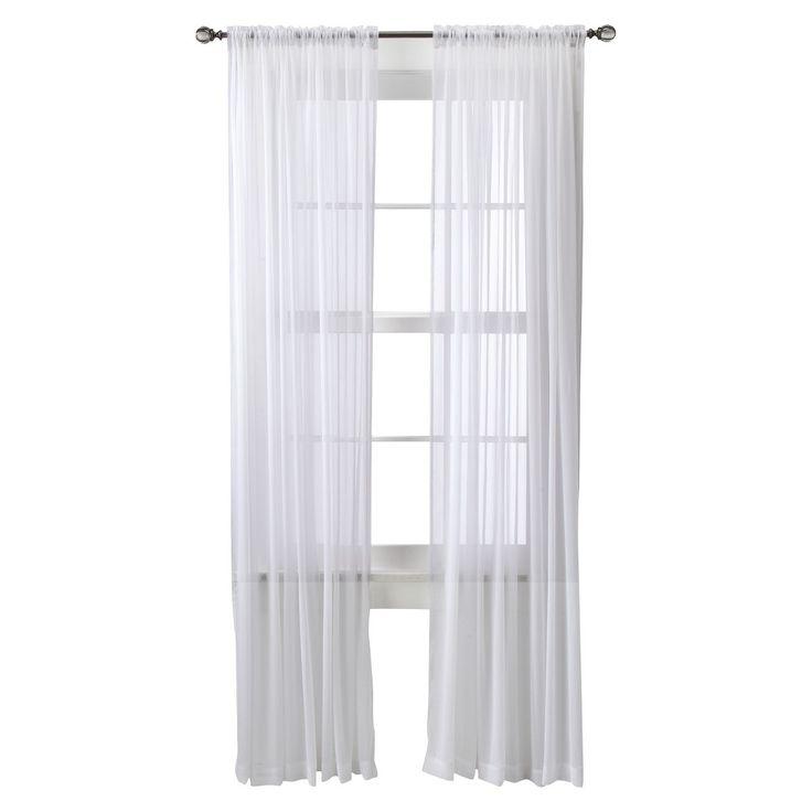 25 Best Sheer Curtain Panels Ideas On Pinterest Curtain