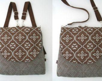 backpack purse messenger crossbody bag convertible by daphnenen